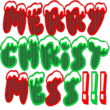 New Holiday Christmas T Shirt: Merry Christmess!!!