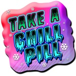 take-a-chill-pill-80s-shirt