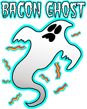 Halloween Bacon Ghost T Shirt!