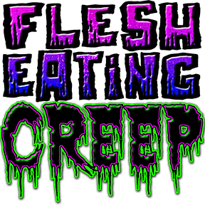Halloween T Shirts – Flesh Eating Creep!