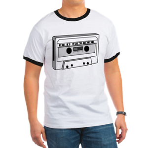 old school cassette 80s shirt