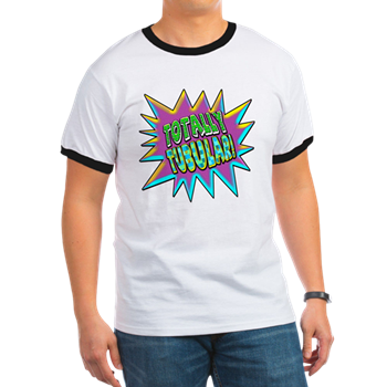 totally tubular 80s shirt